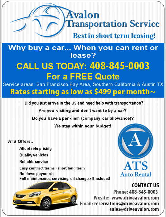 Rent Car For Month >> Avalon Transportation Service Month To Month Car Rental Used